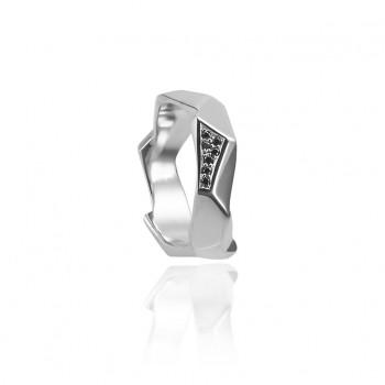 Black Diamond Rock Ring