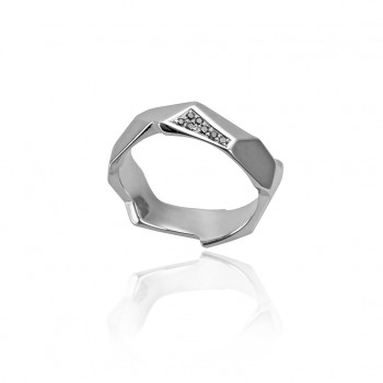 Black Diamond Rock Ring