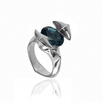 London Topaz Ring