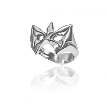 Butterfly Mask Ring