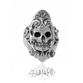 Renaissance Skull Ring