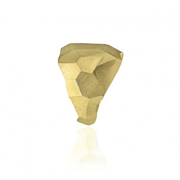 Golden Rock Chic Ring