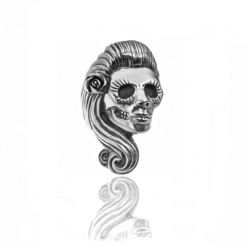 Rosie Skull Ring