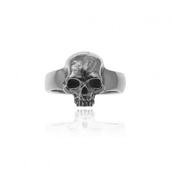 Rugged Skull Ring